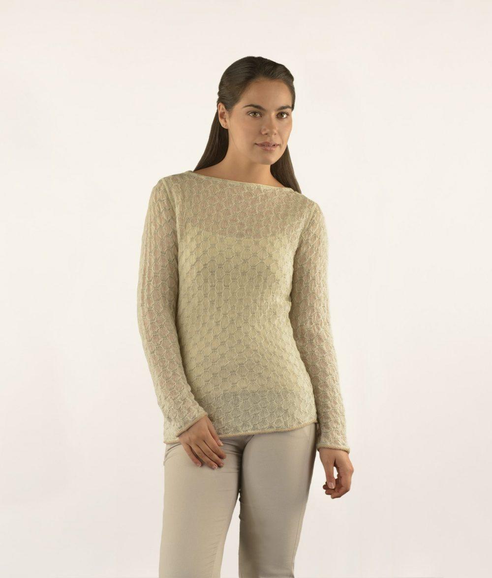Basic Pullover alpaga - Fine Alpaca, fine laine et coton du Pérou